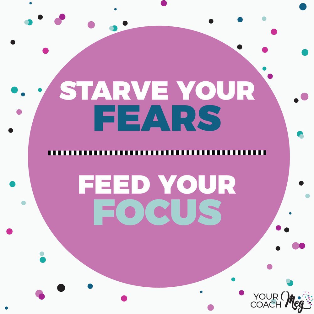 STARVE YOUR FEARS FEED YOUR FOCUS