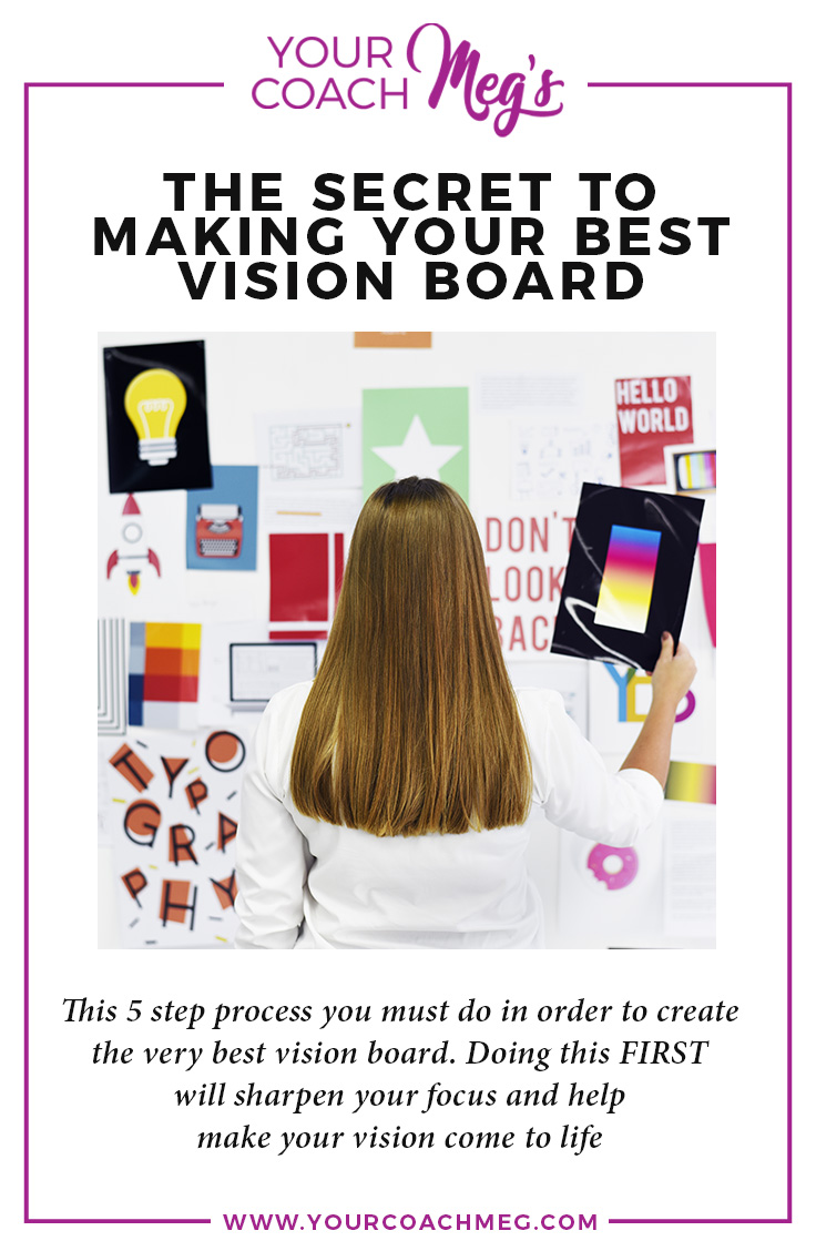 Do THIS before creating your vision board