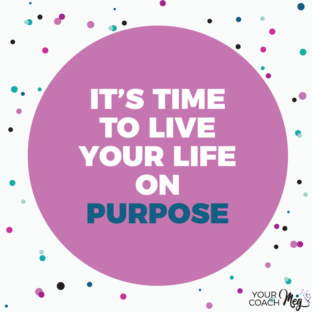 LIVE ON PURPOSE vision board workbook