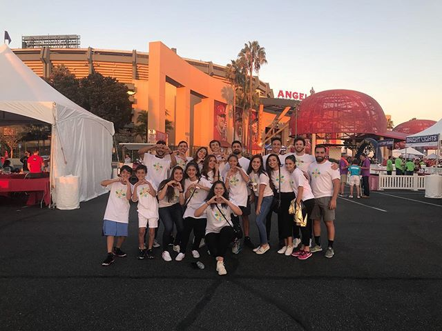 Yesterday we brought just a few members of our amazing team to #DoGoodWell at the Annual Light the Night Walk at the Angels Stadium! Thank you for a memorable night, @leukemialymphomasociety! We will be back ❤️