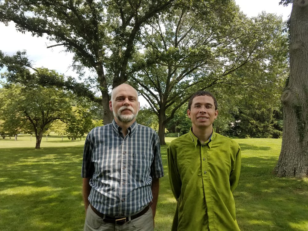 2017 Neural Data Science instructors Mark Reimers and Pascal Wallisch (L to R)