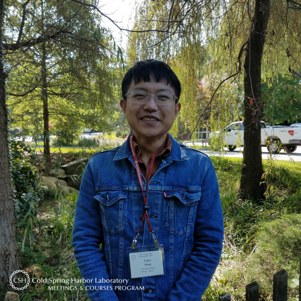cshl-visitor-liguo-dong-2017