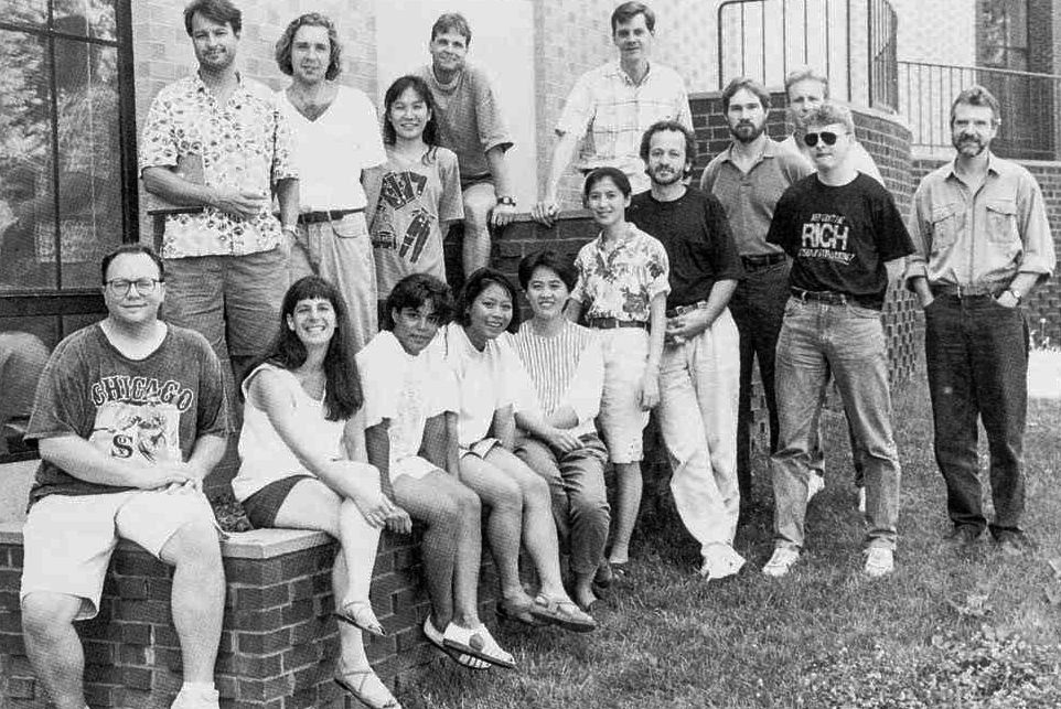Drosophila Neurobiology course, 1993 Can you find Troy Littleton?