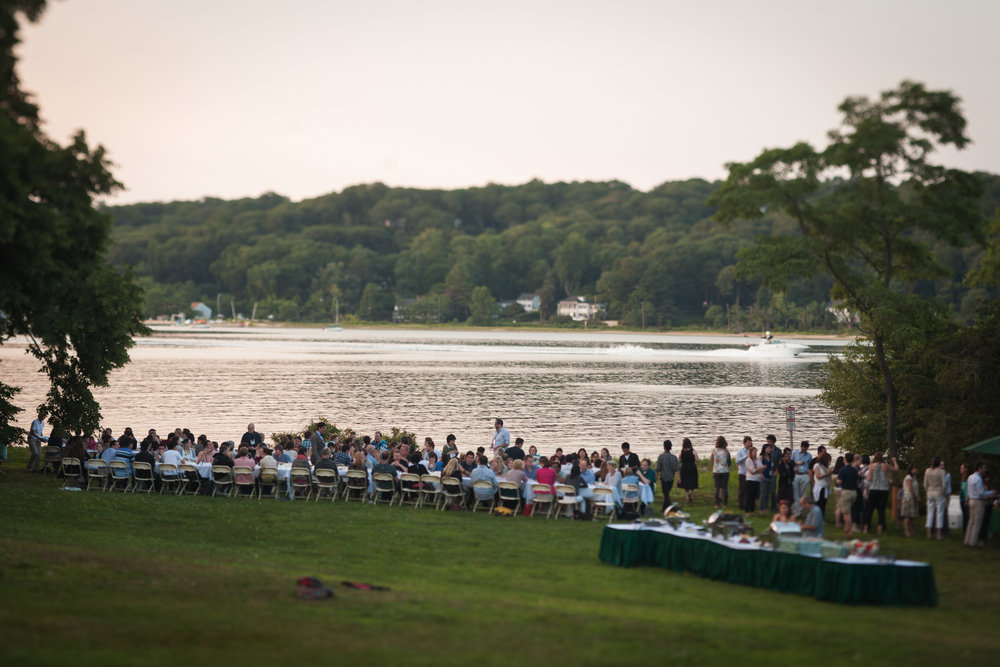 During the warmer months, many of our course and meetings social functions are held on the Airslie Lawn located by the CSHL Beach.