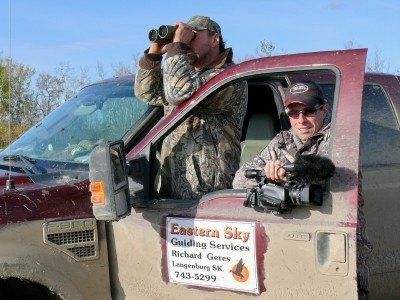 Canada waterfowl hunting scouting