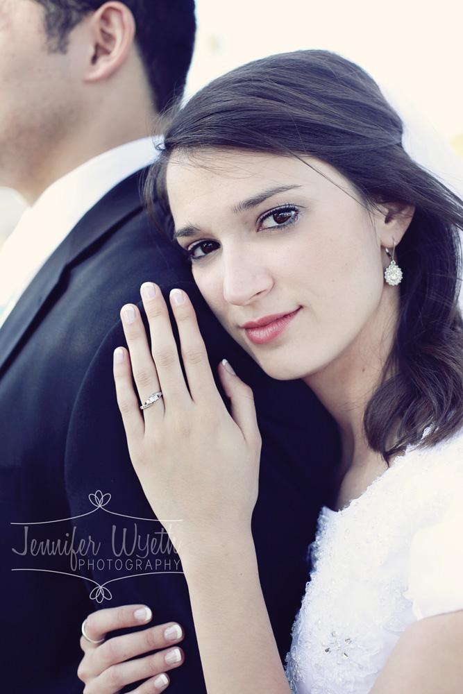 stunning colorado springs bride