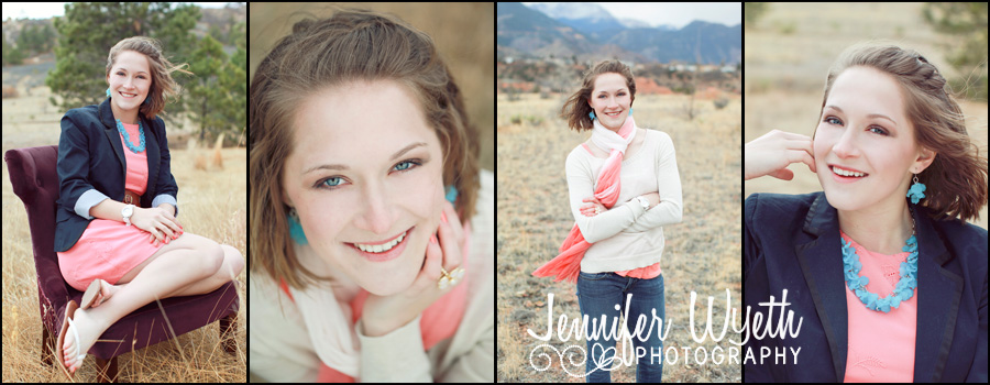 beautiful Colorado Springs senior girl