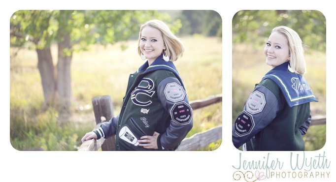 pine creek letterman's jacket on a windy day