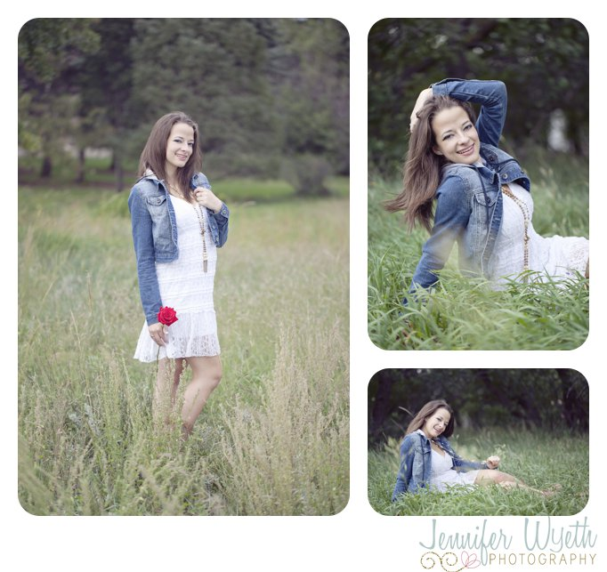 windy weather made for a beautiful high school senior girl photo shoot
