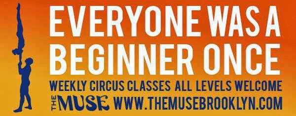 Everyone Was a Beginner Once Muse Circus NYC Brooklyn Acro Cirque