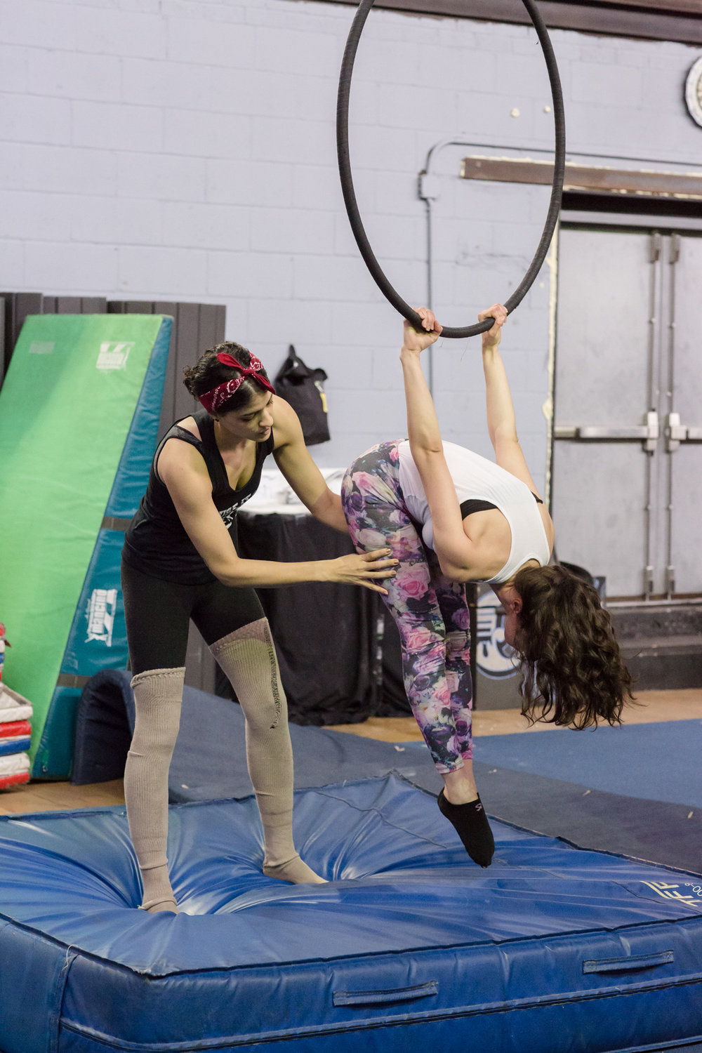 Lyra Cerceau Intermediate/Advanced Circus Class NYC Brooklyn