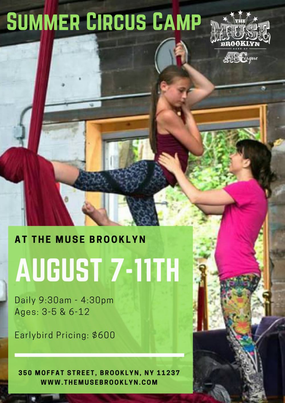 Brooklyn Kids Summer Circus Camp