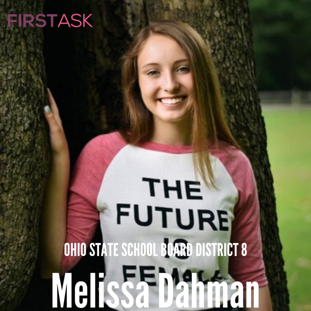 Melissa Dahman-  2018 Candidate for Ohio   State School Board District 8