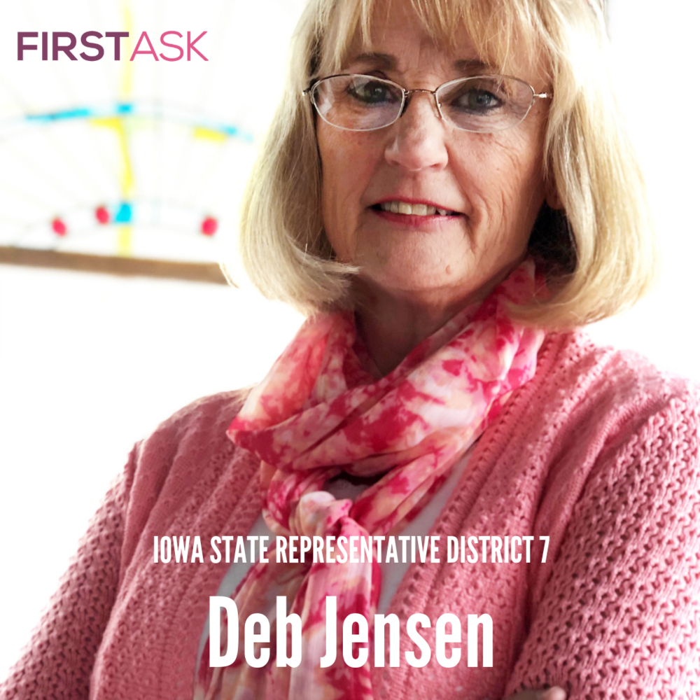 Debra Jensen -  2018   Candidate for   State Representative District 7, IA