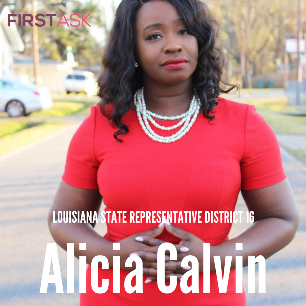 Alicia Calvin-  Candidate for Louisiana State Representative District 16
