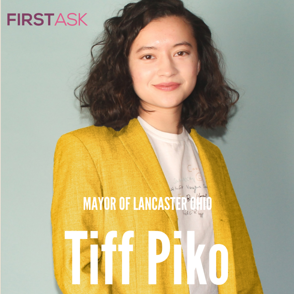 Tiff Piko-  Candidate for Lancaster Ohio Mayor   Educational and professional background:  I was born and raised in Lancaster. After graduating from Lancaster High School, I went to college in New York City at Parsons the New School for Design. There I studied the development of sustainable infrastructure, urban planning, and cultural preservation, to bring new ideas and solutions to Lancaster. After becoming a trained designer and completing internships in urban planning, I came back to serve our community and help others carry on the legacy of Lancaster.  I am also a businesswoman running a sustainable clothing resale shop. Through reselling, I was able to independently finance my education and create jobs for members of my community. By selling only second hand clothing, I have kept over 15,000 lbs of post consumer textile waste out of the landfill.   Top campaign issues:  Job Creation - Lancaster is critically lacking in competitive, sustainable jobs. We need to take steps to balance big business and small business to diversify our economy, allow people to work where they live, and keep Lancaster's talents local.  Neighborhood Preservation - We owe it to our community to ensure we are prepared for the future by focusing our efforts on what works and no longer wasting our resources on what does not. From fixing potholes to treating drug addiction, we have been fighting an uphill battle and it's time to try a new approach.  Community Representation - Lancaster is a mosaic of many unique communities. Unfortunately, many of them have yet to be given a platform to voice their concerns and their hopes for our city. We need to invest in these communities and shift our focus beyond our downtown. Many of our parks are in need of updating, many of our roads need fixed, and many businesses and community members deserve our attention. It is time we afforded every part of Lancaster equal support and attention.  Sustainable Infrastructure - Lancaster became a prominent city because of its natural assets and many members of our community wish to carry on this legacy. Our city has failed to meet the needs of these citizens who have turned to private companies to provide environmental services such as home waste recycling. By partnering with these companies, we can invest in our own locally founded businesses while making their services more accessible.   Fun Fact:  I am running for mayor during my senior year of college.   Website