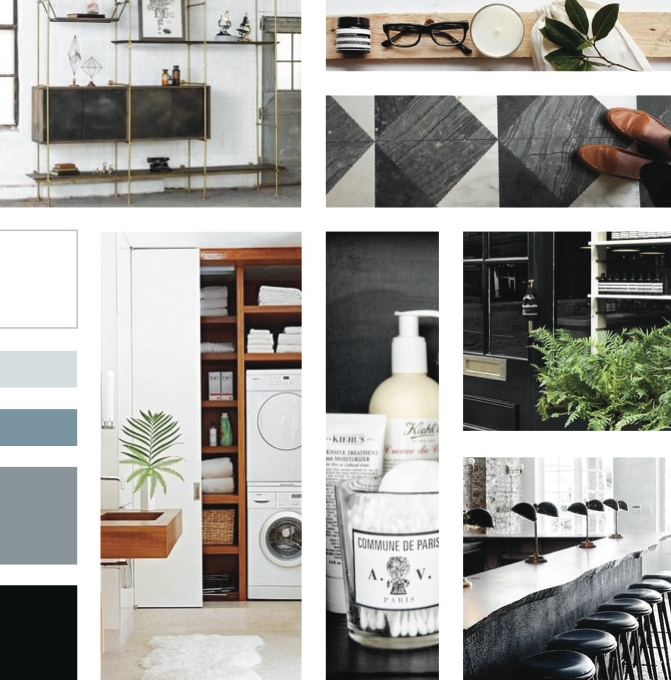 Learn how to research impactful images and visually organize a story - a valuable process for flowing out an interior design project, brand identity, business plan, wardrobe edit or essay.