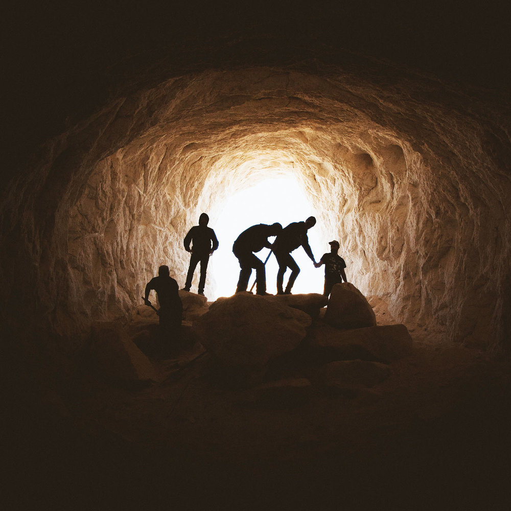 Caged In  - Half your team are trapped in a mine. The other half are helping them from the surface.Minimum of 4 Required.45% Success Rate