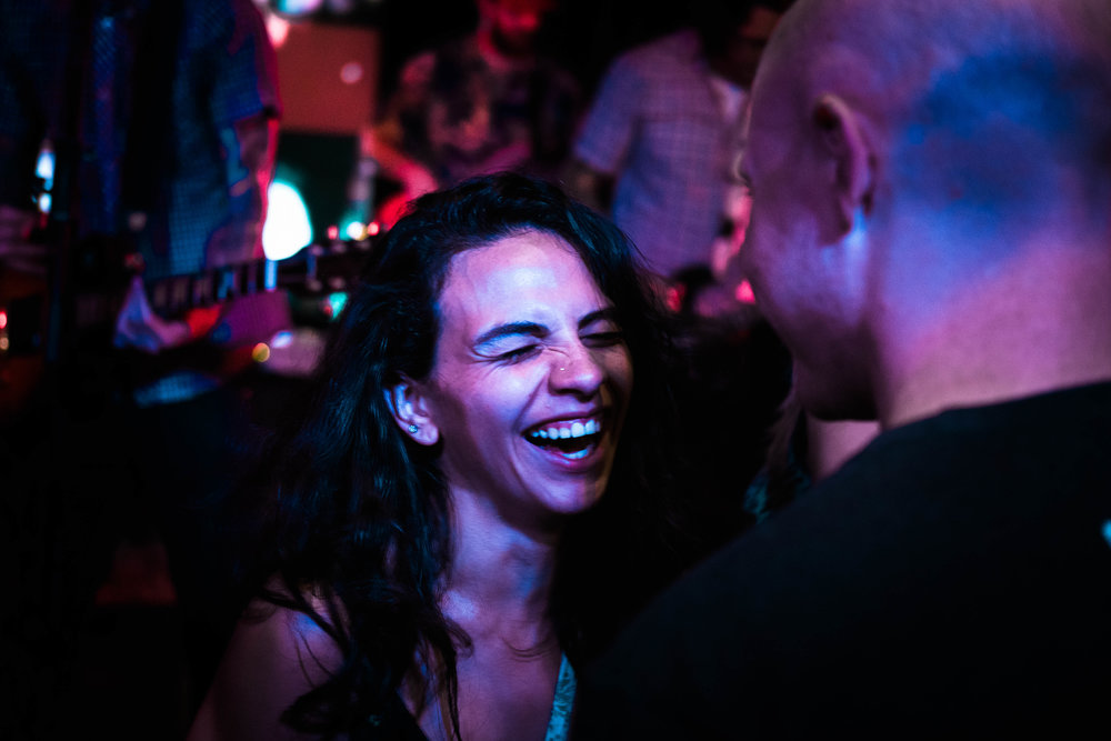 Laughter and Love at a Concert