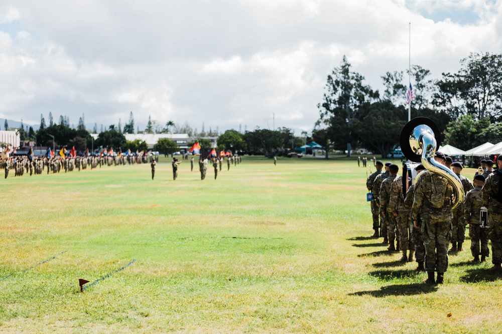Army Band Ceremony