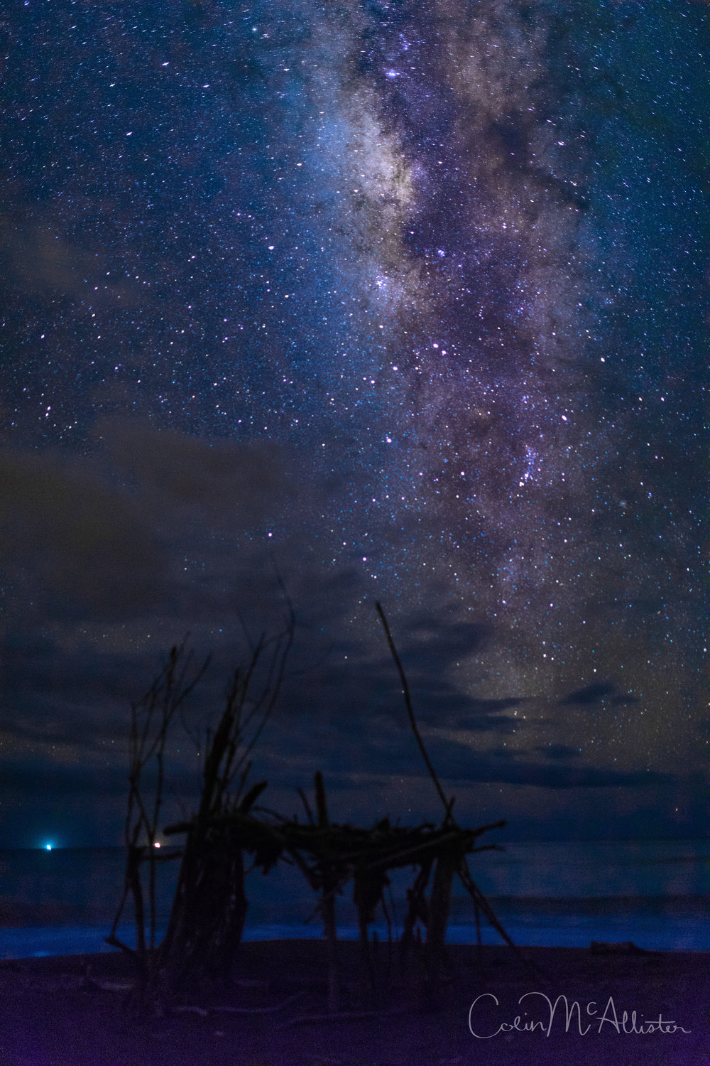 Beautiful Beach Milky Way 1