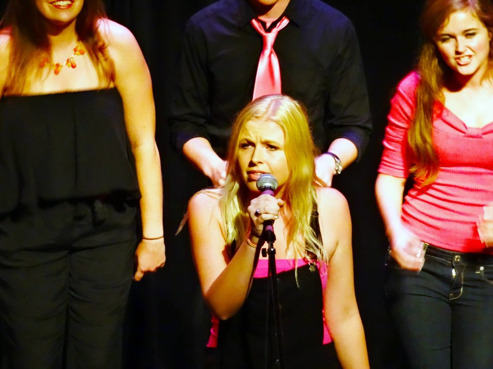 Soloist with X-Factors A Cappella, Northwestern