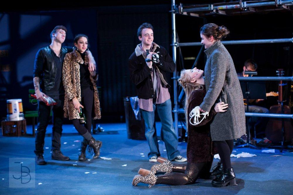 Rent, as Maureen (Jewish Theatre Ensemble, Northwestern)