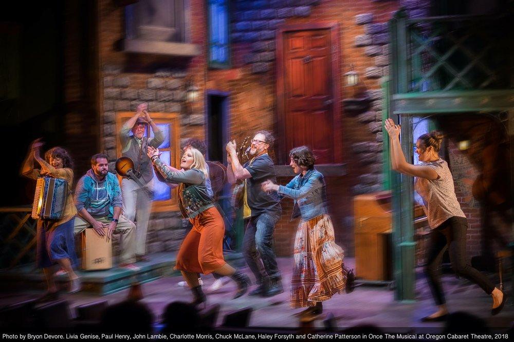 Once  as Reza (Oregon Cabaret Theatre)