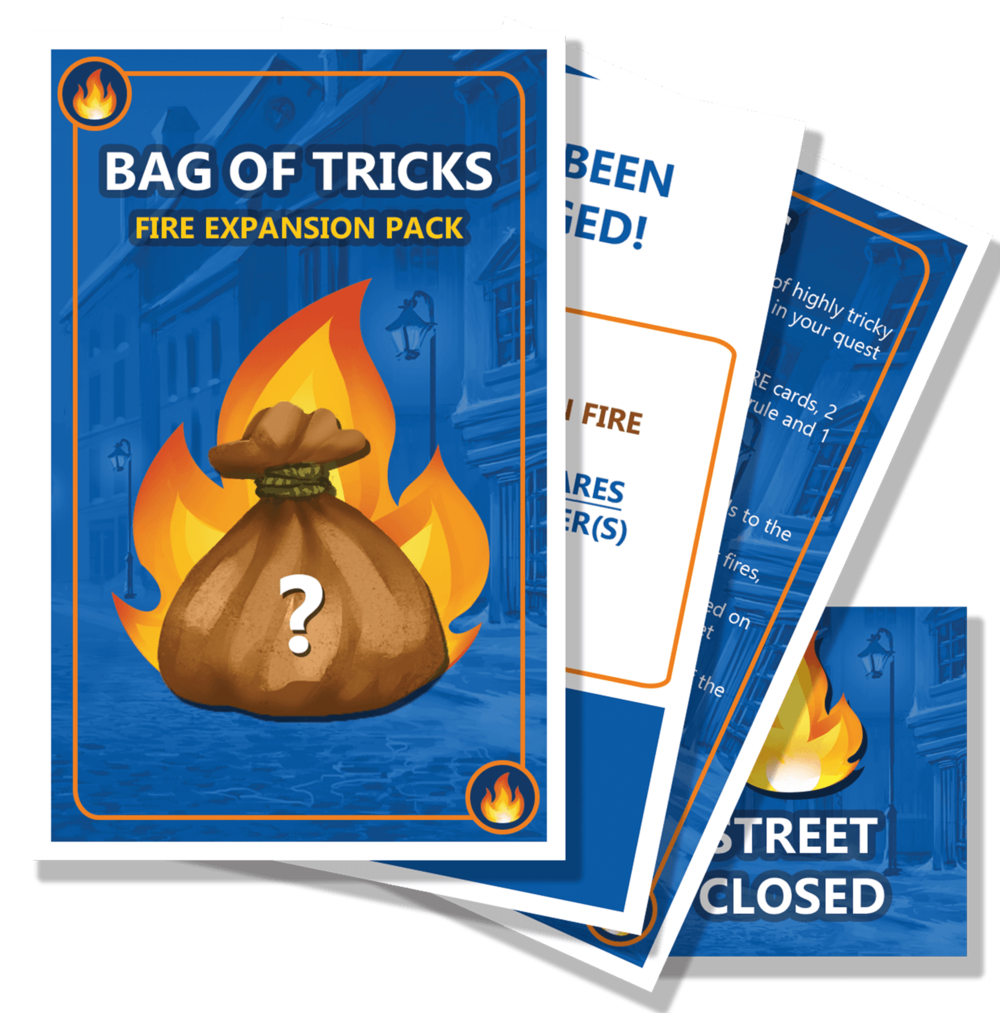 Scrooge's Bag of Tricks 'FIRE' Expansion Pack