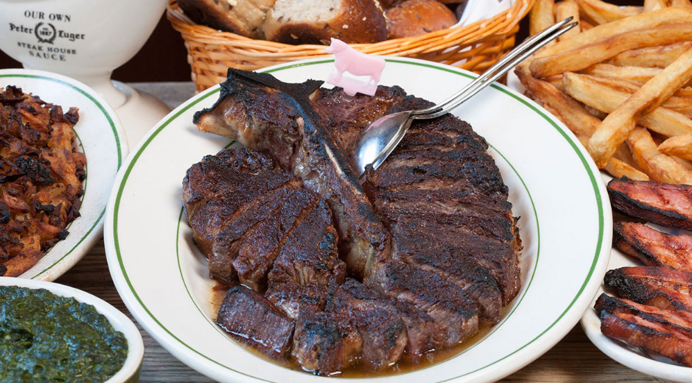 Photo via Peter Luger website
