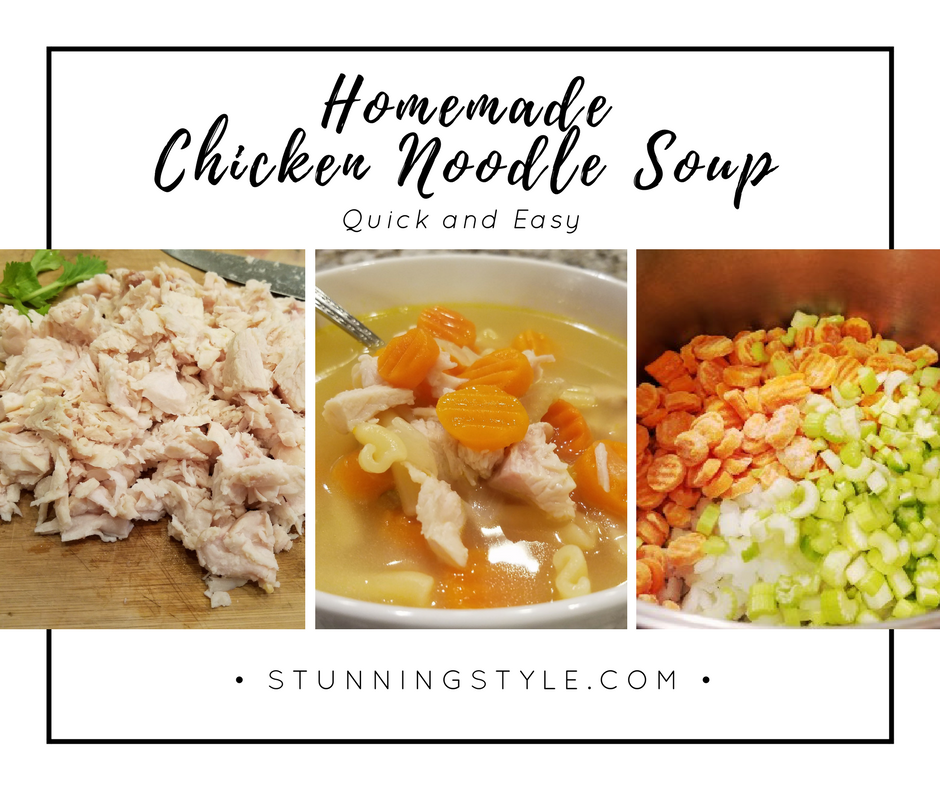 Quick easy chicken noodle soup stunning style this homemade chicken noodle soup recipe will soothe your soul and warm you up this forumfinder Images
