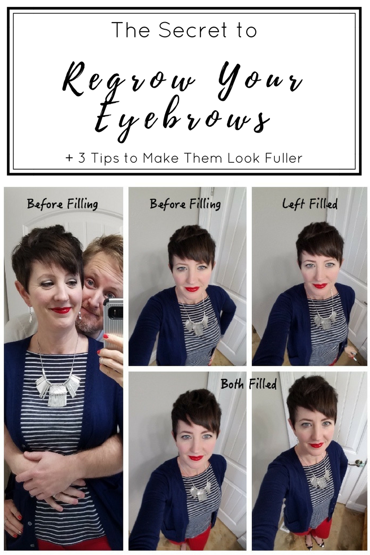 When my husband asked me why I had plucked out all my eyebrows, I finally realized how sparse and thin they had gotten. I discovered an easy and natural way to regrow my eyebrows, what was causing them to fall out, and a few tips to make them look fuller.