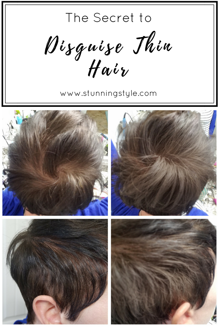The Secret to Disguise Thin(ning) Hair - Stunning Style