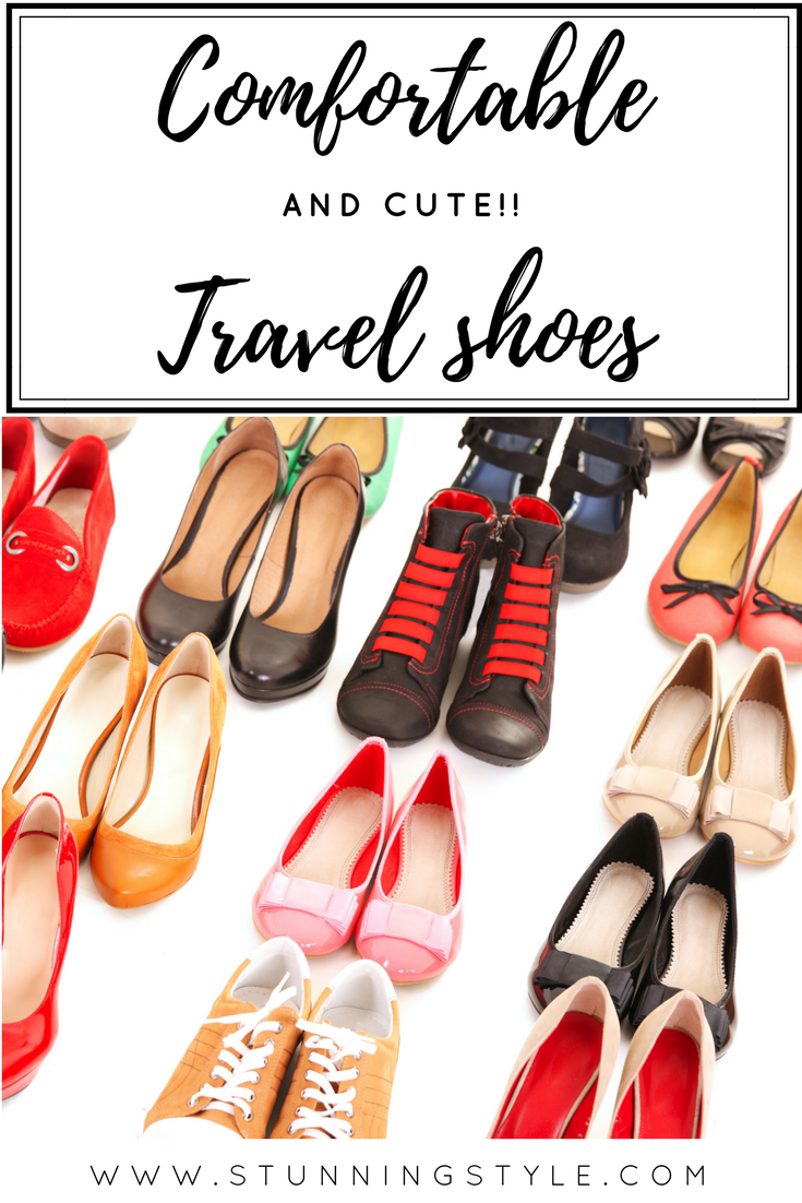 Cute and comfortable travel shoes for your trip are essential. Whether your destination is Europe or Disneyland, I've got you covered with comfy shoes for women that will make your feet happy walking all day and keep your outfit chic enough for the streets of Paris.