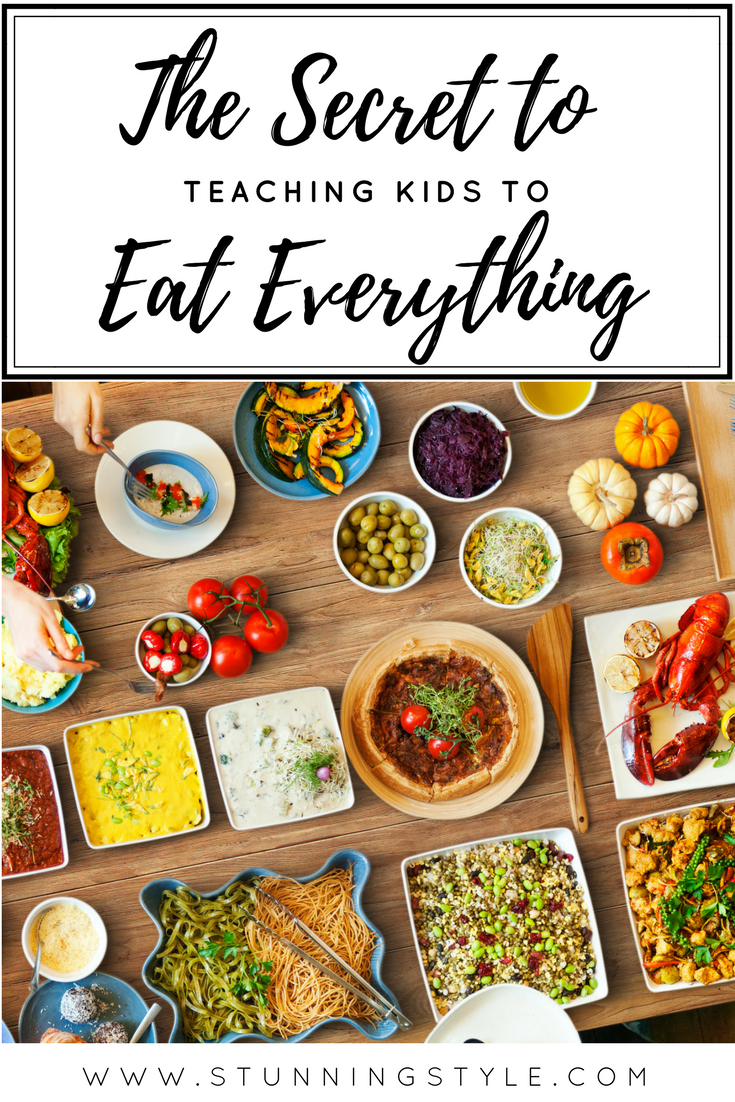 Some kids are born adventurous eaters, but a lot of them are picky. My six kids eat everything from sushi to Brussels Sprouts and love it. Even my daughter with sensory issues has learned to eat just about everything because of how we approach meal times. Meal times don't have to be a battle with toddlers, preschoolers, or at any age.