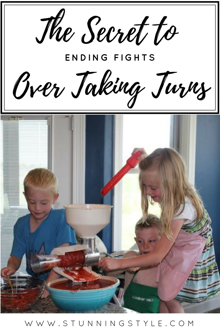 Taking turns is a skill that all kids need to learn, and they can start at a very young age. Activities can quickly go downhill when kids start fighting over whose turn it is. Everything from sibling rivalry to impatience can be the cause, but there is one simple solution to stop it, no matter how old they are. Toddlers, preschoolers, tweens and teens can all learn to take turns with this one simple secret.