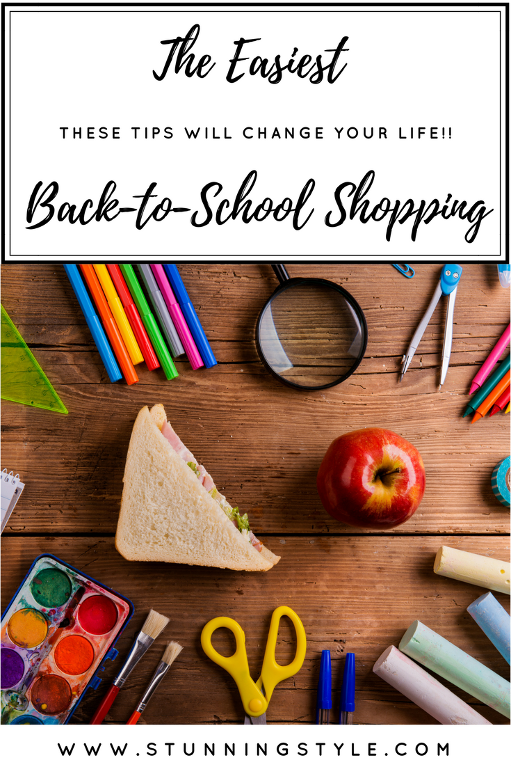 Does back-to-school supply shopping for the kids make you crazy? It is the WORST, but you don't have to panic when the school supply lists come out. I have four tips to make this the easiest school supply shopping you have ever done. These tips will change your life!