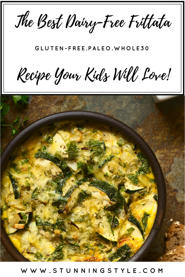If you need a dairy-free frittata recipe that is delicious, low carb, Paleo, Whole30, gluten-free,full of veggies and perfect to serve for breakfast, brunch, or dinner, I've got the perfect formula to make an endless combination of flavors as a handy printout you can keep for inspiration.