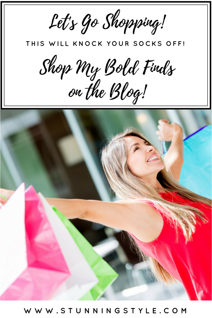 Come see all of my bold, stunning finds on the blog. It's like you're shopping with me. From the couch.
