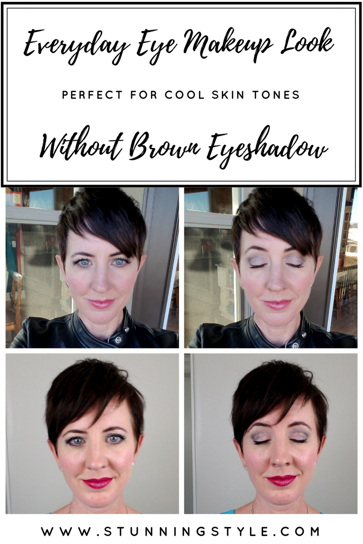 I was looking for an easy,natural, everyday eye makeup tutorial without brown shadows, and I finally came up with my own. I made a simple step by step video for beginners to create a beautiful look.