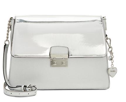 Silver Reflective Shoulder Bag