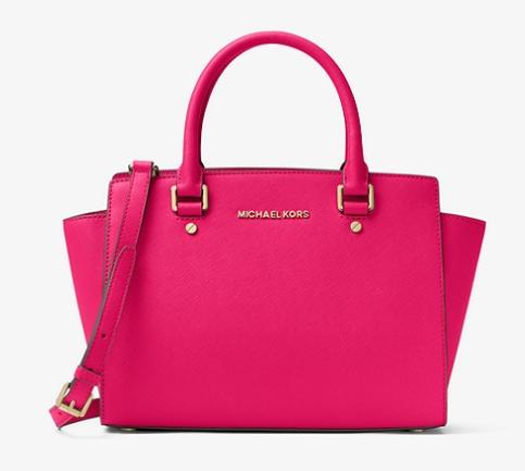 Bold Pink Satchel