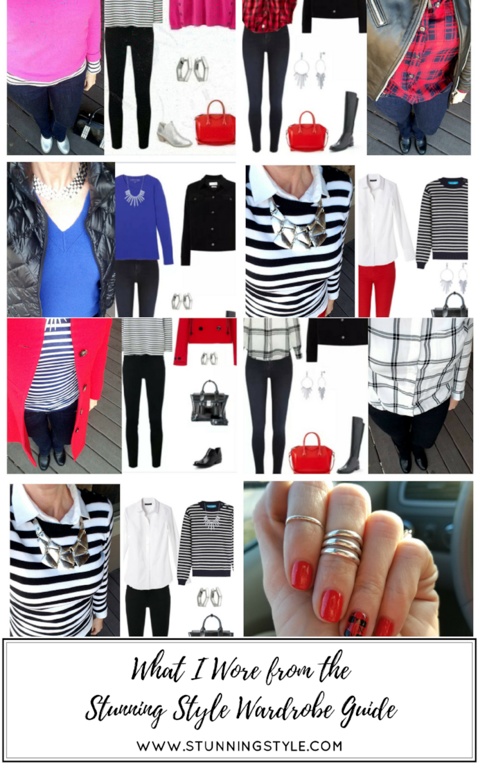 If you are looking for a winter capsule wardrobe, outfit inspiration, or a way to refresh your current wardrobe, the Stunning Style Wardrobe Guide - A Curated Seasonal Collection is perfect for your casual or work lifestyle. 31 classic pieces make 100 outfits for the Type 4 bold, stunning woman and the true winter, cool winter and dark or deep winter woman. I've combined sweaters, jackets, jeans, shirts, shoes, skirt and accessories to give you the perfect winter wardrobe. This makes the perfect shopping list for your Christmas gift wish list! Get yours today!