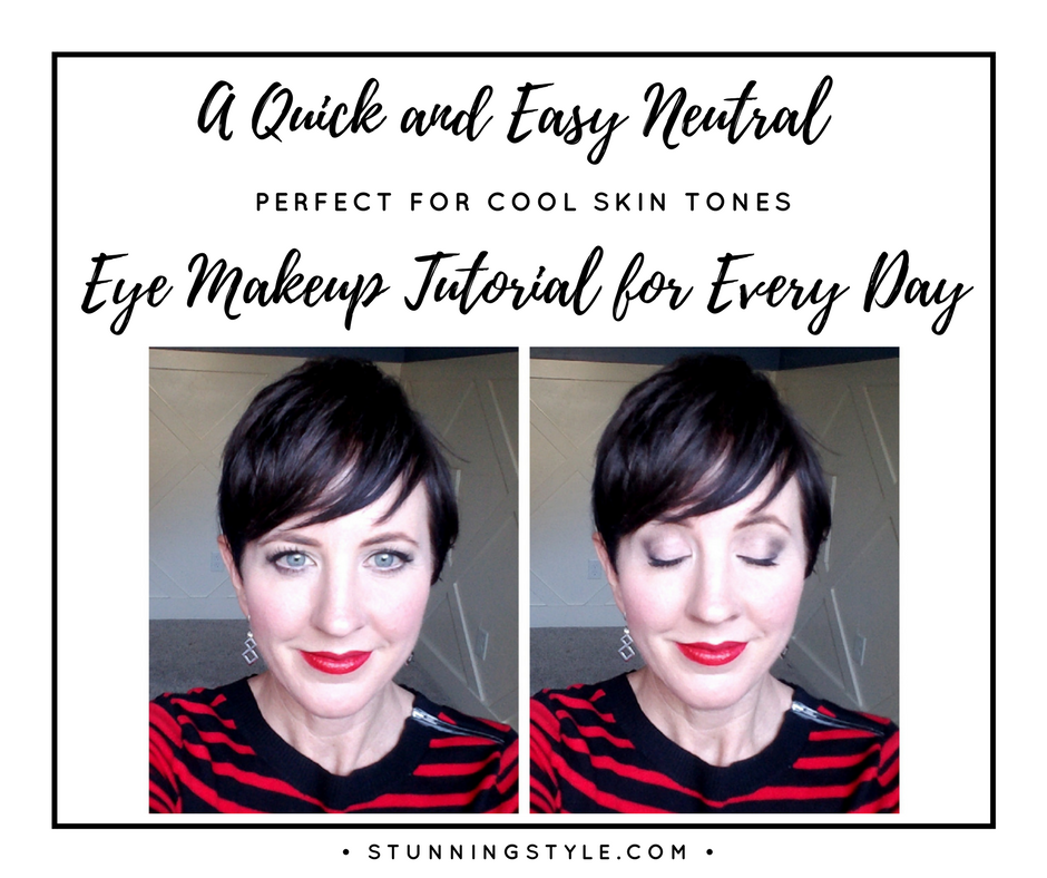 A Quick and Easy Neutral Eye Makeup Tutorial for Every Day — Stunning Style
