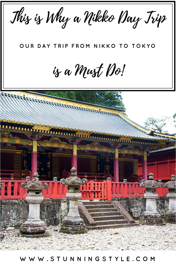 If you are considering a day trip from Tokyo to Nikko, all I can say is DO IT! It's absolutely worth it. We went in the spring for cherry blossom season, and I'm dying to go back in the autumn. There is so much to see and do, including the temples and shrines, the Kanmangafuchi Abyss, waterfalls, bridges and Unesco Heritage Sites. We did it all in one day, and you can too! Come see our itinerary and travel to a unique wonderland with us!