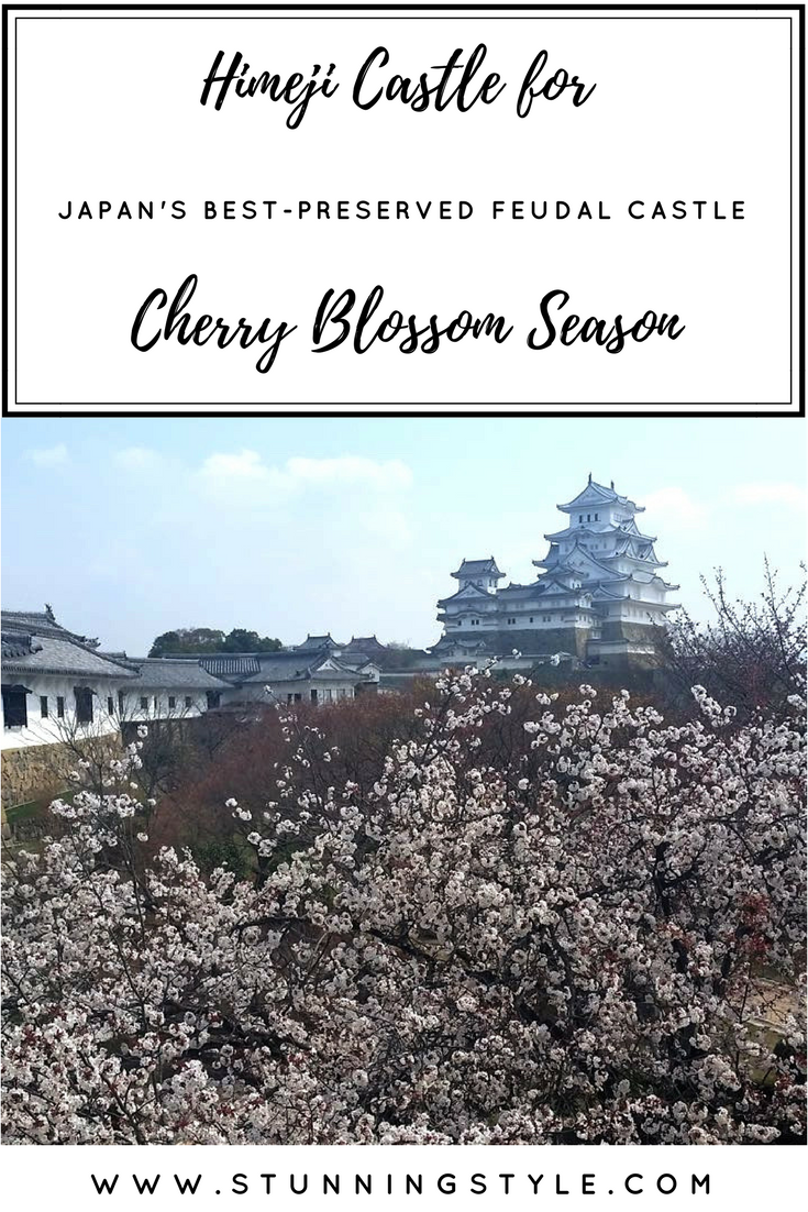 Himeji Castle during cherry blossom season is spectacular! The interior architecture was designed to protect and defend the people, and be an object of beauty. It includes traditional gardens and thousands of cherry trees. Come see what our visit was like and my best travel tips to make sure you get a ticket!