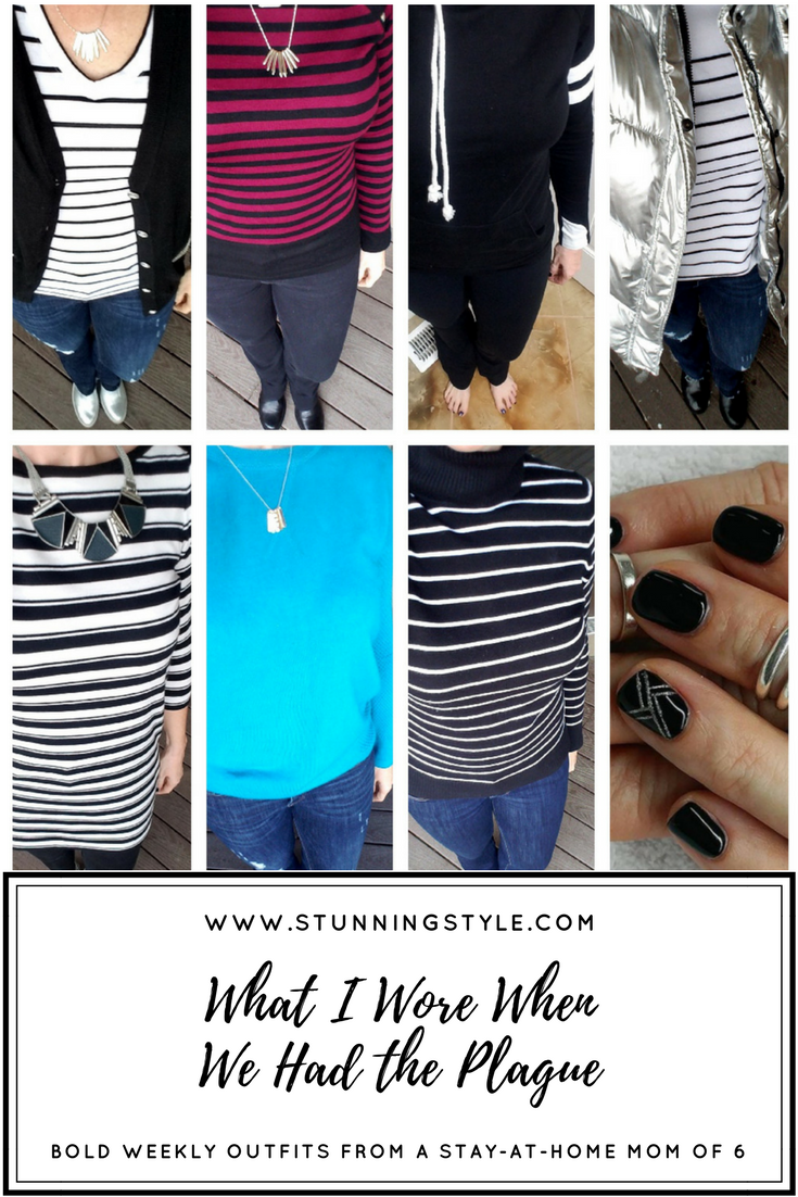 Weekly outfits from a busy stay-at-home mom of 6 kids, winter style. Bold colors, bold lips, classic and edgy style. Dressing Your Truth Type 4 DYT T4 T4/3. Winter outfits