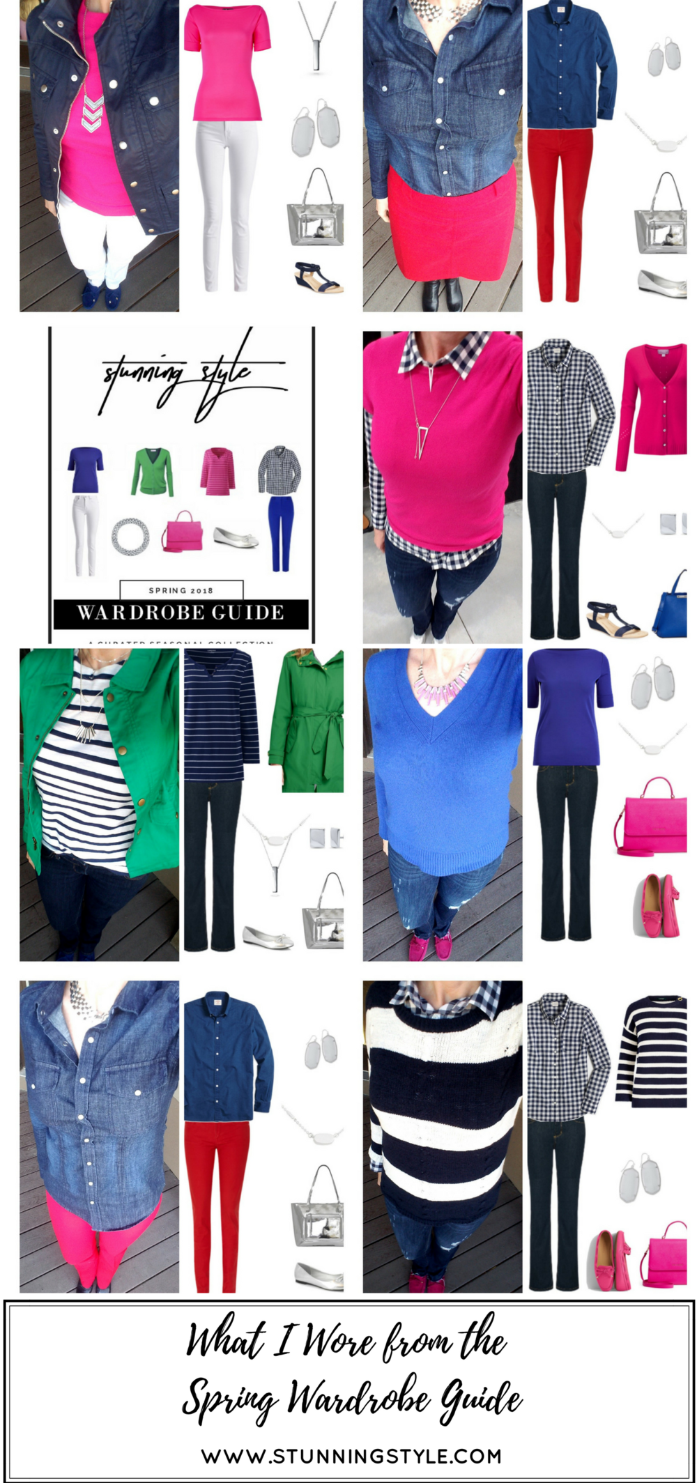 Stunning Style. Bold everyday style from a busy stay-at-home mom of 6 kids, spring style. Bold colors, bold lips, classic and edgy style outfits. Dressing Your Truth Type 4 DYT T4 T4/3. Spring outfits.