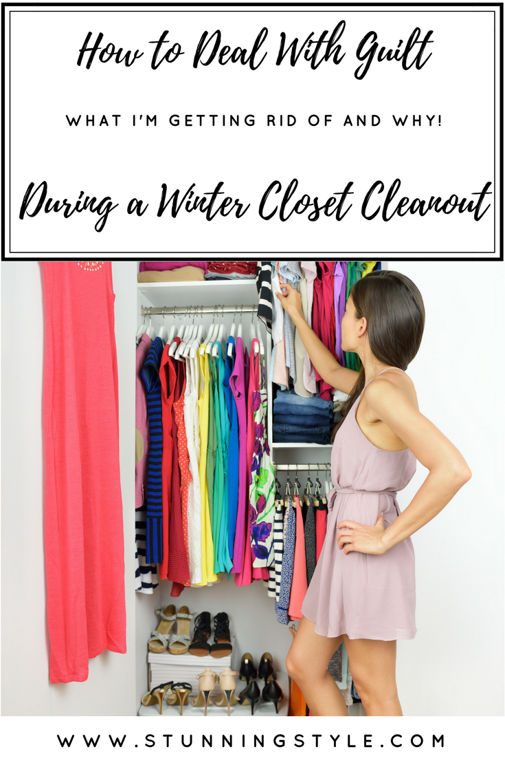 Cleaning out your closet is a lot like breaking up. You part ways with different items for different reasons, and it can be an emotional experience. Everything from guilt to sentiment. I'm taking you through my closet in 7 separate videos to show you which winter pieces I'm parting with, and why. Come see my tips for dealing with the emotions of a winter closet cleanout. It will inspire you to purge break up with some items yourself!