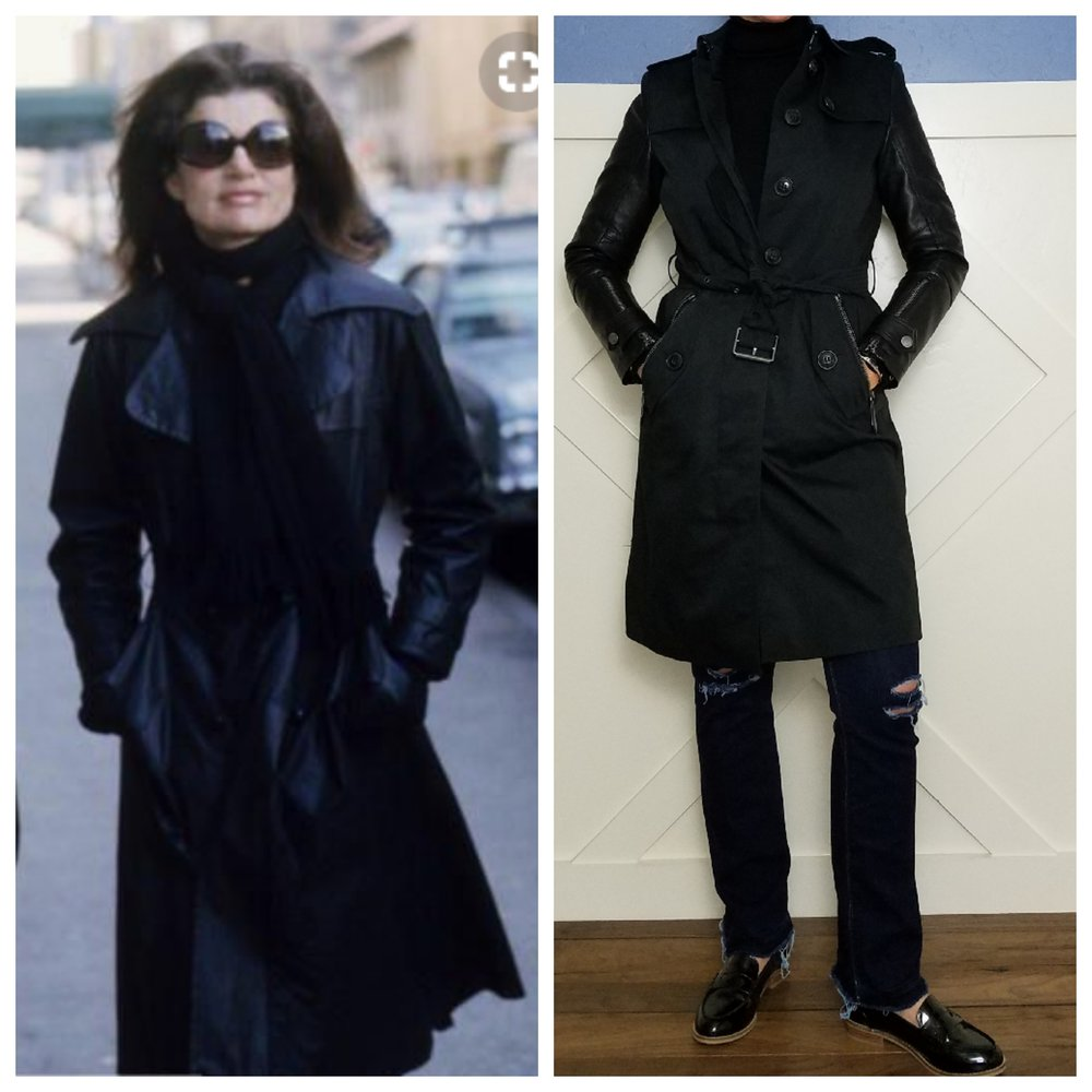 Jackie O.'s sense of fashion and dress is iconic. She even has a style of sunglasses named after her! This is what I wore when I was inspired by her